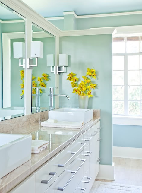 Темата на вашата баня може да бъде вашия любим сезон