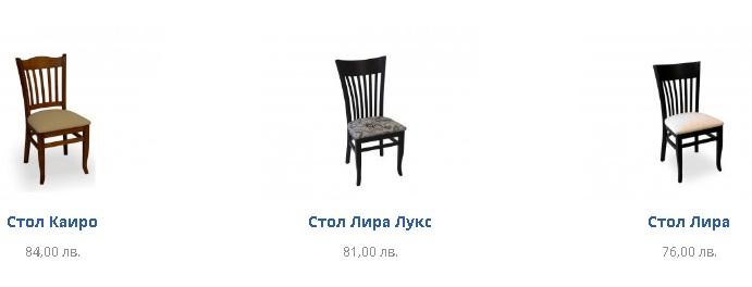 Столове за хранене онлайн