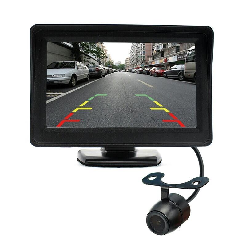 Универсална авто камера за задно виждане